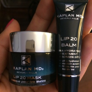 Kaplan MD Lip Mask and Lip Balm SPF 20 available online only at Sephora.com
